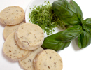 Basil Lime Shortbread