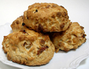 Ginger Peach Scone