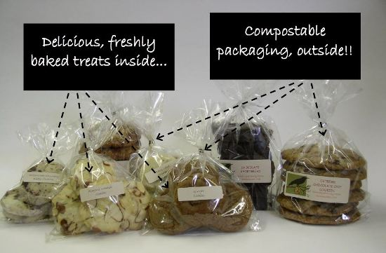 Earth Day - compostable packaging!