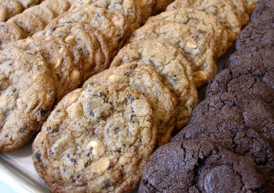Chocolate Chip Cookies - three kinds