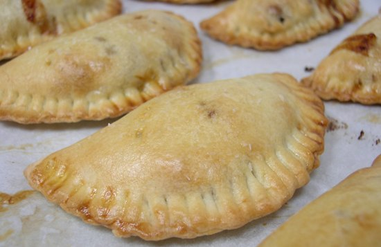Savory Hand Pie - fresh from the oven