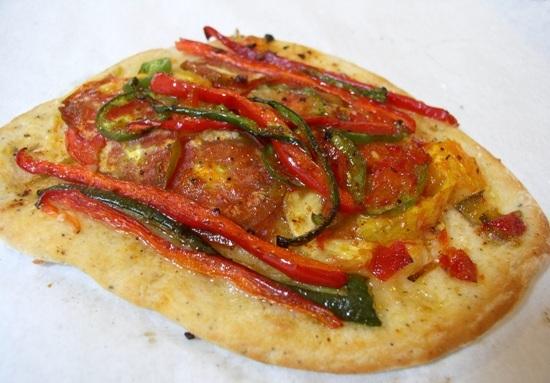 Spicy Veggie Flatbreads