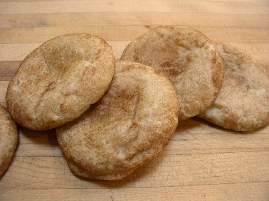 Cinnamon-covered Snickerdoodles from Rare Opportunity Bakehouse