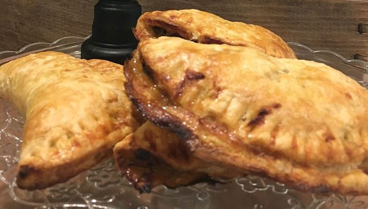 Pulled Pork and Roasted Veggie Handpies