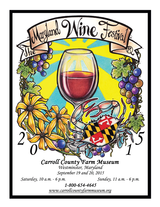 Maryland Wine Festival Poster